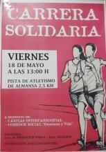Carrera solidaria 2018