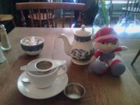 Descanso con té